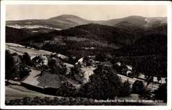Postcard Sommerau Lohberg Oberpfalz, Ortschaft mit Großen u. Kleinen Arber
