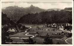 Postcard Gößweinstein im Kreis Forchheim Oberfranken, Behringersmühle, Schloss