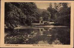 Postcard Lünen in Nordrhein Westfalen, Mühle bei Schloss Buddenburg