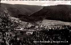 Postcard Klosterreichenbach Baiersbronn im Schwarzwald, Panoramablick auf den Ort