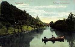 Postcard Osnabrück in Niedersachsen, Partie am Herrenteichswall
