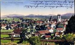 Postcard Kempten im Allgäu Schwaben, Blick vom Lotterberg auf die Stadt