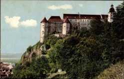 Postcard Heidenheim an der Brenz Baden Württemberg, Blick auf Schloss Hellenstein