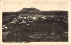 Postcard Asperg Baden Württemberg, Hohenasperg, Durchgangslager Eglosheim