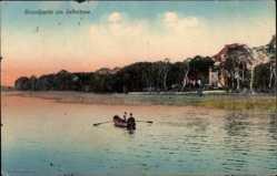 Postcard Oranienburg im Kreis Oberhavel, Strandpartie am Lehnitzsee