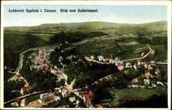 Postcard Eppstein Taunus, Blick vom Kaisertempel, Luftkurort