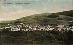Postcard Bad Salzschlirf in Hessen, Panorama von Marienlust, Anbaufelder