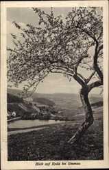 Postcard Rhoda Ilmenau im Ilm Kreis Thüringen, Blick aus der Ferne auf den Ort