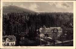 Postcard Oybin in Sachsen, Blick auf Berghotel Forsthaus Hain