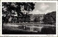 Postcard Dortmund im Ruhrgebiet, Fluss, Partie an der Buschmühle