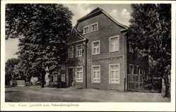 Postcard Lünen in Nordrhein Westfalen, Gaststätte zum Siebenpfennigsknapp
