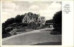 Postcard Altenstein Bad Liebenstein im Wartburgkreis, Schloss vom Park gesehen