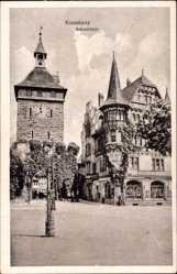 Postcard Konstanz am Bodensee, Straßenpartie am Schnetztor
