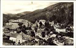 Postcard St. Blasien im Südschwarzwald, Gesamtansicht der Stadt
