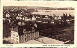 Postcard Konstanz am Bodensee, Blick von Kreuzlingen auf die Stadt