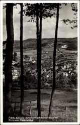 Postcard Unterleinleiter Fränkische Schweiz, Blick vom Malerwinkel