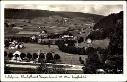 Postcard Warmensteinach Oberfranken Bayern, Blick in das Kropfbachtal