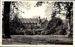 Postcard Düsseldorf Holthausen am Rhein, Blick auf Haus Elbroich