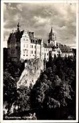 Postcard Sigmaringen an der Donau, Ansicht des Schlosses