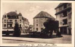 Postcard Oldenburg in Niedersachsen, Partie am Julius Moser Platz