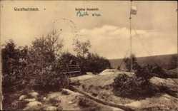 Postcard Waldfischbach Burgalben, Eine Schöne Aussicht, Fahnenmast