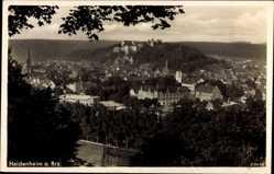 Postcard Heidenheim an der Brenz, Panoramablick auf die Stadt