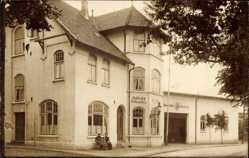 Foto Ak Barmstedt, Gasthof und Fuhrwesen, Inh. W. Mohr, Ausspann
