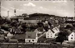Postcard Sulzbach Rosenberg, Blick auf das Krankenhaus, Stadtansicht, Häuser