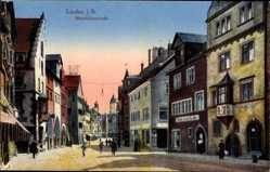 Postcard Lindau im Bodensee Schwaben, Blick in die Maximilianstraße