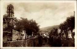 Postcard Insel Madeira Portugal, Ribeira de Santa Luzia, Santa Luzias Ravine