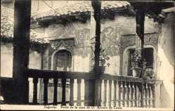 Postcard Segovia Kastilien León Spanien, Patio de la casa de D. Alvaro de Luna