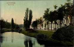 Postcard Rotterdam Südholland Niederlande, Partie am Mauritsweg
