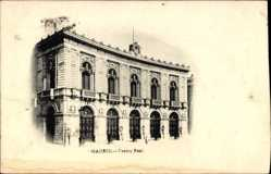 Postcard Madrid, Teatro Real, Blick von außen auf das Theater