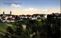 Postcard Freudenstadt, Höhenluftkurort, Stadtpanorama, Türme, Wald