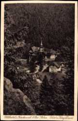 Postcard Bad Steben im Frankenwald Bayern, Höhental, Hotel zum König David