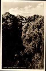 Postcard Ebermannstadt Oberfranken, Schloss Burggailenreuth im Wald