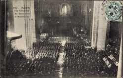 Ak Paris Frankreich, Une Ceremonie au Sacre Coeur de Montmartre