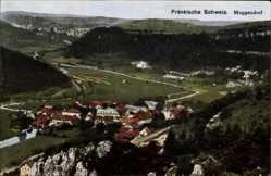 Postcard Muffendorf Wiesenttal im Kreis Forchheim Oberfranken, Gesamtansicht, Umgebung