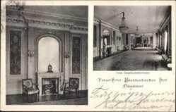Postcard Düsseldorf am Rhein, Palasthotel Breidenbacher Hof, neue Gesellschaftsräume