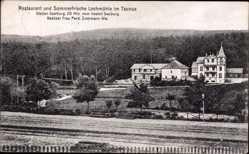 Postcard Wehrheim im Hochtaunuskreis, Restaurant Lochmühle, Besitzer Frau Ferd