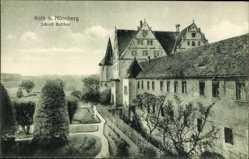 Postcard Roth in Mittelfranken, Seitenansicht von Schloss Ratibor