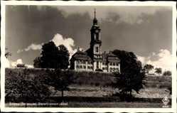 Postcard Birnau Uhldingen Mühlhofen Bodenseekreis, Blick auf die Zisterzienser Abtei