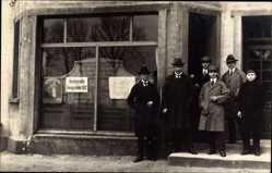 Foto Ak Buchholz Nordheide, Kreissparkasse, Annahmestelle, Zwangsanleihe 1922