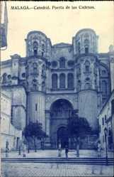 Postcard Malaga Andalusien, Catedral, Puerta de la Cadenas