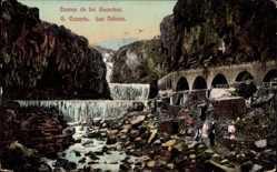 Postcard Las Palmas de Gran Canaria Kanarische Inseln, Cuevas de los Guanches