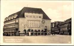 Postcard Villingen Schwenningen im Schwarzwald, Blick auf Marktplatz mit Rathaus