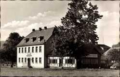Postcard Rohrbrunn Weibersbrunn, Das Wirtshaus im Spessart