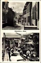 Postcard Rüdesheim Rhein in Hessen, Schmidtstraße, Rochuskapelle, Weinschenke Hermani