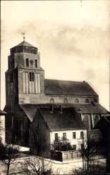 Postcard Wolgast in Mecklenburg Vorpommern, Ansicht der Petrikirche