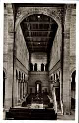 Postcard Alpirsbach im Kreis Freudenstadt, Mittelschiff der Klosterkirche
